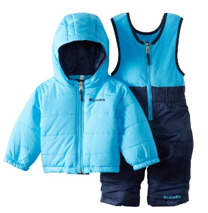 Columbia Unisex Reversible Bib and Jacket Set