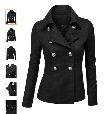 Womens Pea Coat