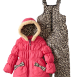 Cheetah Snowsuit Set for Girls