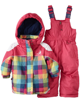 Rugged Bear Plaid Snowsuit