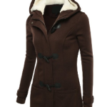 Womens Hooded Toggle Jacket