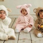 Infant Snowsuit-Bear-Rabbit-Lamb