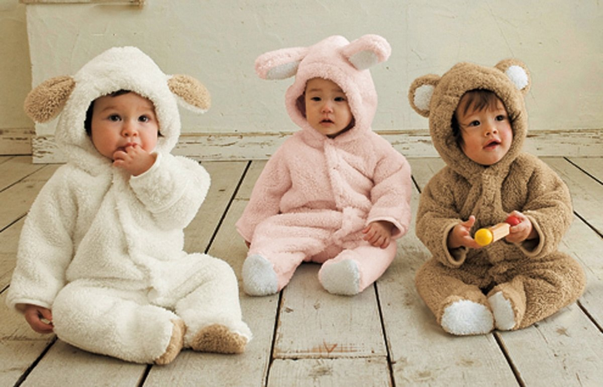 Infant Snowsuit-Bear-Rabbit-Lamb
