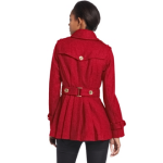 Miss Sixty Peacoat in Ruby
