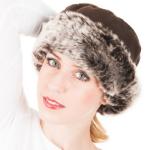 Faux Fur Fleece Crown Hat