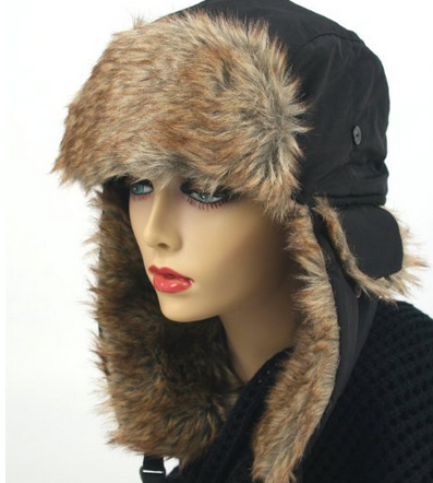 Womens Trapper Winter Ear Flap Hat P136