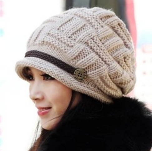 slouchy knit hats and beanies for women winter fashion house