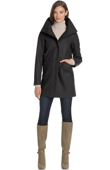 Tommy Hilfiger Wool Cocoon Coat